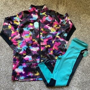 Lularoe Determined Jacket and Fearless Pants NWT